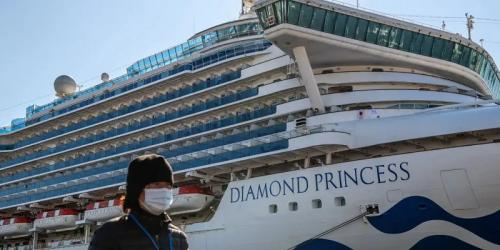 Kapal Pesiar Diamond Princess. (Business Insider)