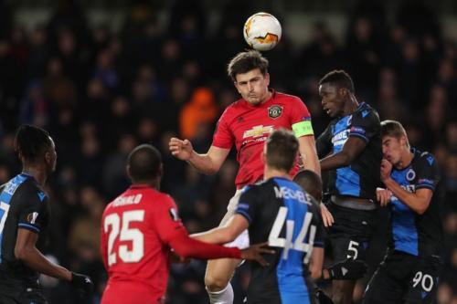 Laga Club Brugge vs Man United