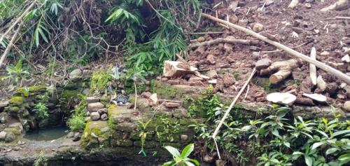 Situs Sejarah di Cirebon Rusak (Foto: Okezone/Fathnur)