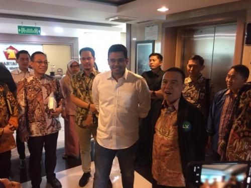 Bobby Nasution. (Foto: Harits Tryan/Okezone)
