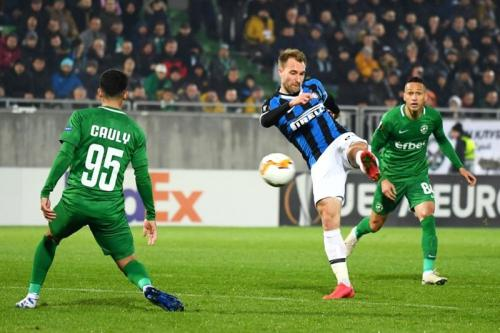 Ludogorets vs Inter Milan