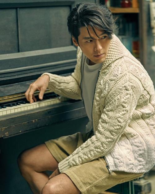 Hyun Bin. (Foto: Arena Homme)