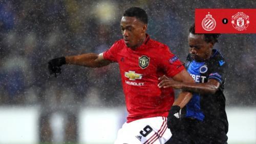 Club Brugge vs Man United