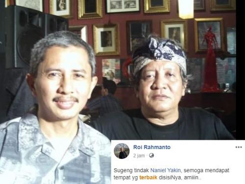 Naniel Yakin. (Foto: Facebook/Roi Rahmanto)