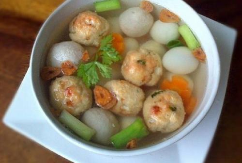 Sup Bakso Goreng