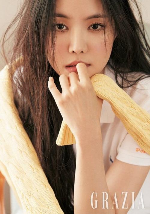 Son Naeun. (Foto: GRAZIA)