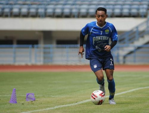 Beckham Nugraha Putra (Foto: Laman resmi Persib/@Amandeep Rohimah)
