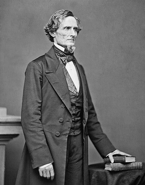 Jefferson Davis (foto: Wikipedia)