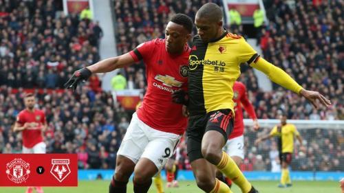 Man United vs Watford