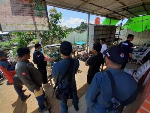 Petugas ungkap taman satwa ilegal di Sanggau Kalbar. (Ist)