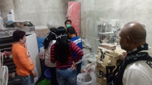 BNN bongkar pabrik narkoba rumahan di Bandung. (Ist)