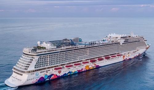 Kapal pesiar World Dream. (Foto : Dream Cruise Line)