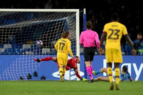 Napoli vs Barcelona di 16 Besar Liga Champions 2019-2020 (Foto: UEFA)
