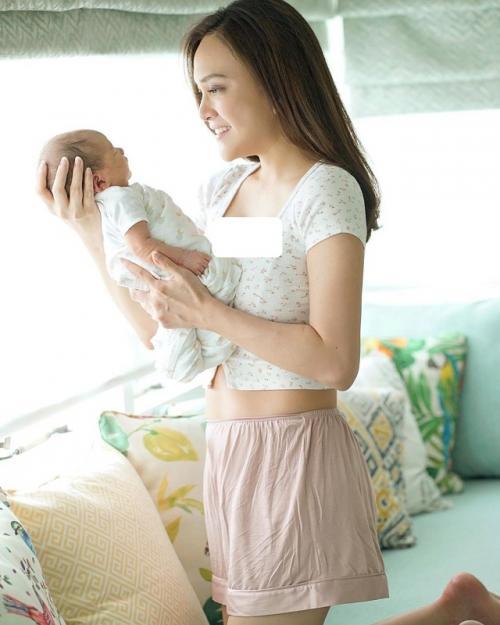 Shandy Aulia dan perut rampingnya pasca-melahirkan. (Foto: Instagram/@shandyaulia)