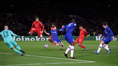 Suasana laga leg pertama Chelsea vs Bayern