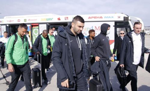 Skuad Ludogorets Razgard terbang menuju Milan (Foto: Situs resmi)