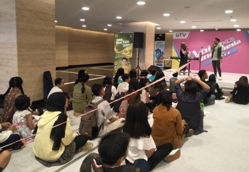Audisi The Voice Kids Indonesia di Jakarta. (Foto: Okezone/Rena Pangesti)