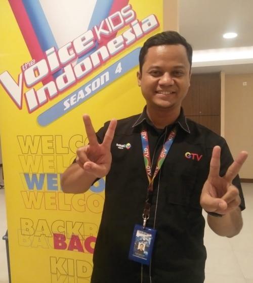 Budy Asyanto, Produser The Voice Kids Indonesia. (Foto: Okezone/Rena Pangesti)