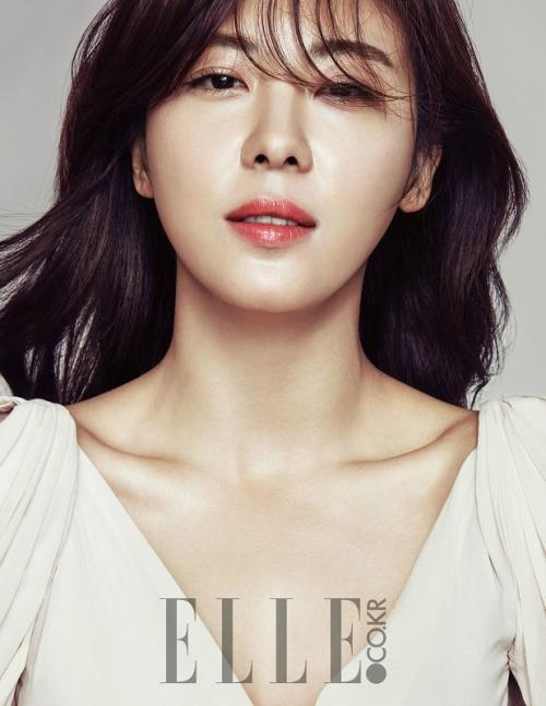 Ha Ji Won. (Foto: ELLE)