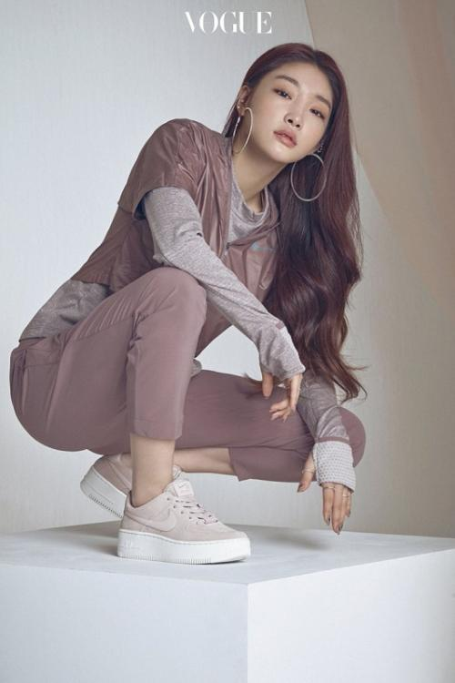 Chungha. (Foto: VOGUE)