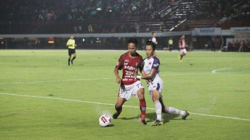 Suasana laga Bali United vs Persita Tangerang (Foto: Bali United)