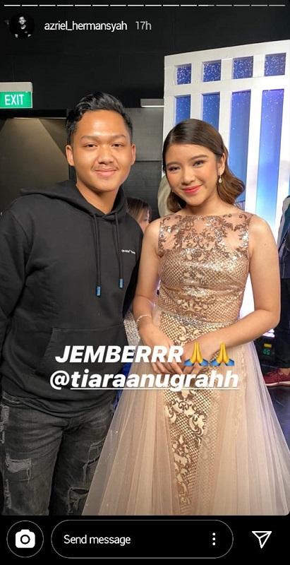 Azriel Hermansyah dan Tiara Idol