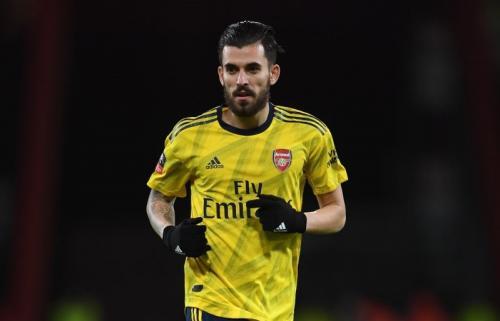 Pemain Arsenal, Dani Ceballos