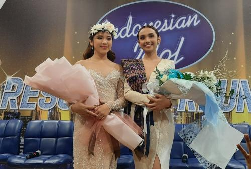 Lyodra Ginting atau Lyodra Idol dan Tiara Idol