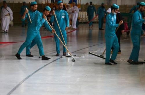sterilisasi Masjidil Haram