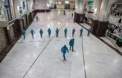 pembersihan Masjidil Haram