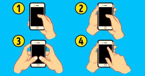 Cara Pegang Ponsel