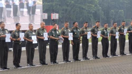 Rapat Pimpinan TNI dari Kodam IV/Diponegoro. (Foto: Taufik Budi/Okezone)