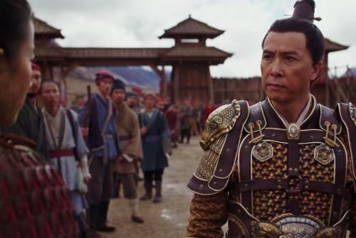 Donnie Yen di Mulan