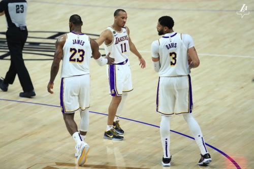 Para pemain LA Lakers