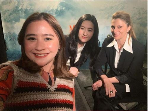 Prilly Latuconsina, Liu Yifei, dan Niki Caro