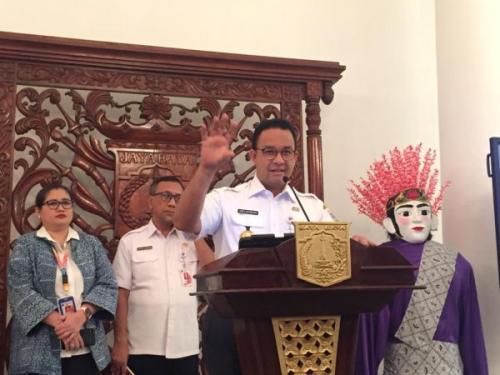 Gubernur DKI Jakarta Anies Baswedan. (Foto : Okezone.com)