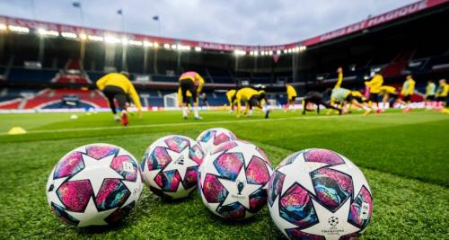 Skuad Borussia Dortmund berlatih di Stadion Parc des Princess (Foto: Situs resmi BVB)