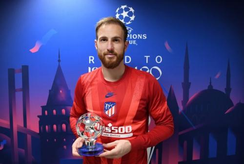 Kiper Atletico Madrid, Jan Oblak