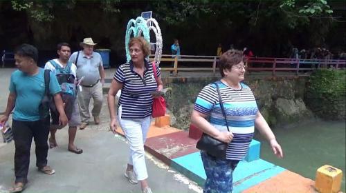 Turis Hongaria merasa aman berwisata ke Indonesia (Foto : Okezone.com/Herman)