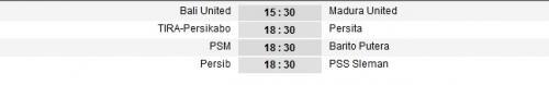 Jadwal Liga 1 2020 pekan ketiga