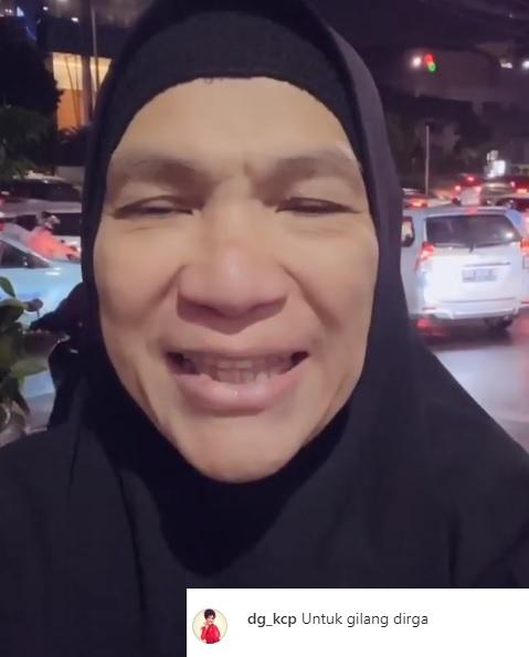 Dorce Gamalama kritik konten YouTube Gilang Dirga. (Foto: Instagram/@dg_kcp)