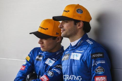 Carlo Sainz dan Lando Noris