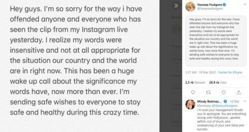 Instagram Vanessa Hudgens