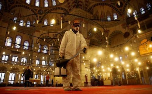 sterilisasi Masjid