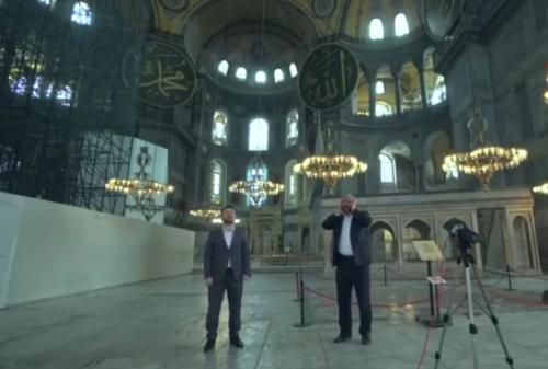 azan di Hagia Sophia
