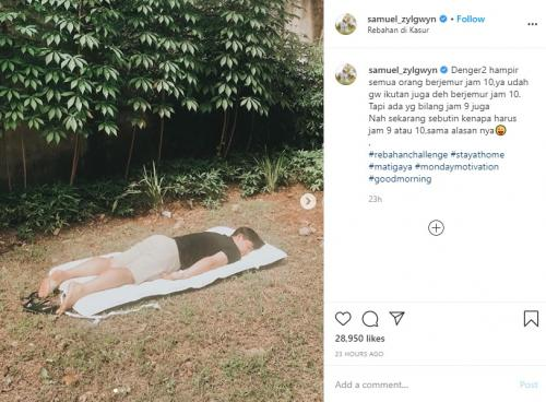 Samuel Zylgwyn. (Foto: Instagram)