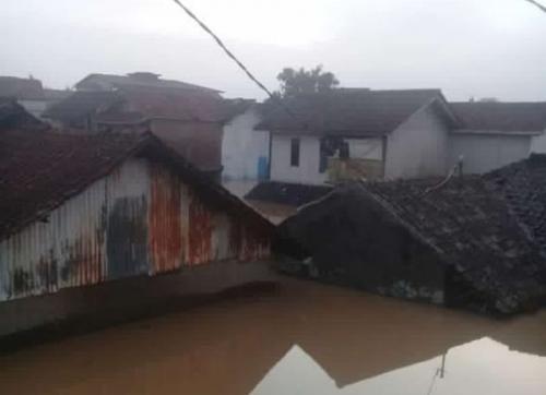 Banjir Kabupaten Bandung Foto: BNPB