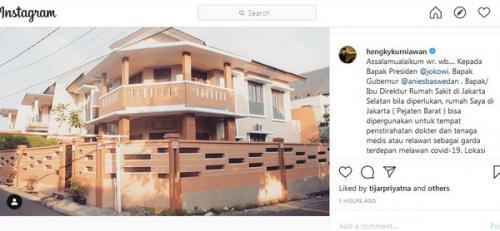 Hengky Kurniawan. (Foto: Instagram)