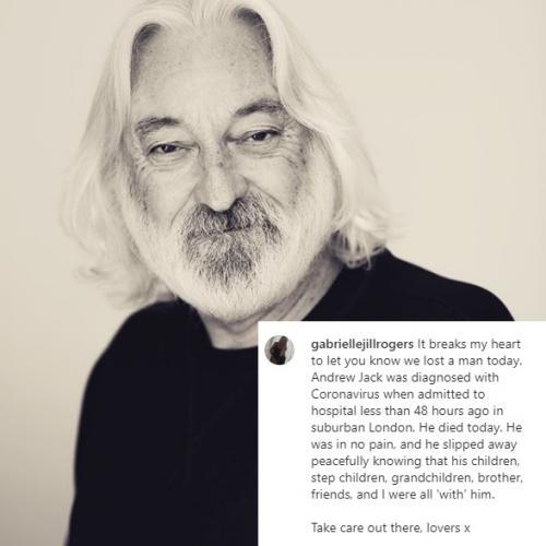 Andrew Jack. (Foto: Instagram/@gabriellejillrogers)
