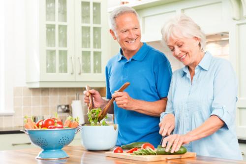 Lansia Diet Sehat